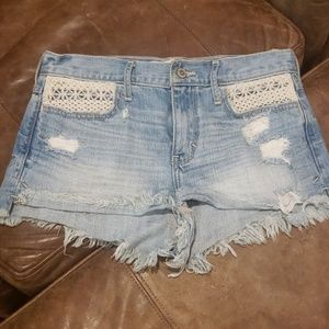 Hollister distressed shorts (2 for 20)